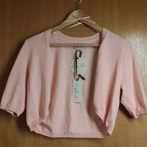 NWT Pink Lindy Bop Sweater Shrug Sz M